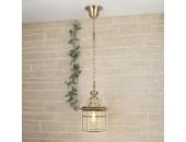 Уличный подвесной светильник Elektrostandard 1031 Savoie H (классический, бронза)