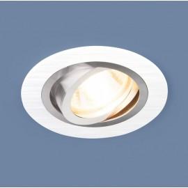 Точечный встраиваемый светильник Elektrostandard 1061/1 WH (модерн, белый)