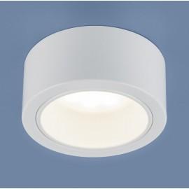 Точечный накладной светильник Elektrostandard 1070 WH (модерн, белый)