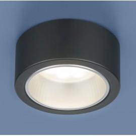 Точечный накладной светильник Elektrostandard 1070 BK (модерн, черный)