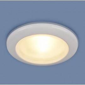 Точечный влагозащищенный встраиваемый светильник Elektrostandard 1080 WH (модерн, белый)