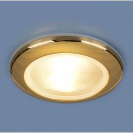 Точечный влагозащищенный встраиваемый светильник Elektrostandard 1080 GD (модерн, золото)