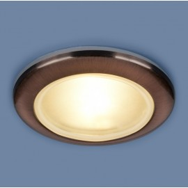 Точечный влагозащищенный встраиваемый светильник Elektrostandard 1080 RAB (модерн, медный)