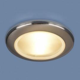Точечный влагозащищенный встраиваемый светильник Elektrostandard 1080 CH (модерн, хром)