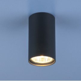 Точечный накладной светильник Elektrostandard 1081 ВК (модерн, черный)