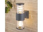 Уличный настенный светильник Elektrostandard Techno 1407 (модерн, серый)