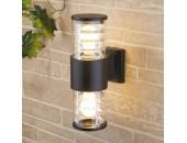 Уличный настенный светильник Elektrostandard Techno 1407 (модерн, черный)