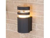 Уличный настенный светильник Elektrostandard Techno 1444 (модерн, черный)