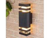 Уличный настенный светильник Elektrostandard Techno 1449 (модерн, черный)