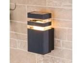 Уличный настенный светильник Elektrostandard Techno 1450 (модерн, черный)
