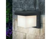 Уличный настенный светильник Elektrostandard Techno 1540 Shelter Grit (модерн, черный)