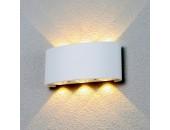 Уличный настенный светильник Elektrostandard Techno 1551 LED Twinky Trio (модерн, белый)