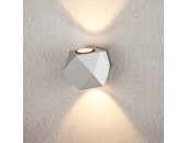 Уличный настенный светильник Elektrostandard 1565 TECHNO LED KROKET белый