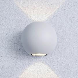 Уличный настенный светильник Elektrostandard 1566 Techno LED Diver (модерн, белый)