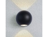 Уличный настенный светильник Elektrostandard 1566 Techno LED Diver (модерн, черный)