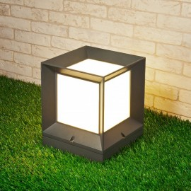 Ландшафтный светильник Elektrostandard 1604 Techno Marko S (модерн, серый)