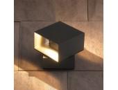 Уличный настенный светильник Elektrostandard Techno 1607 LED Fobos (модерн, графит)