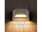 Уличный настенный светильник Elektrostandard Techno 1614 LED Ofion (модерн, серый)