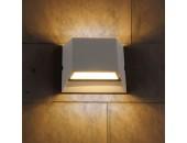 Уличный настенный светильник Elektrostandard Techno 1615 LED Ofion Double (модерн, серый)