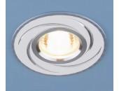 Точечный встраиваемый светильник Elektrostandard 2002 WH (модерн, белый)