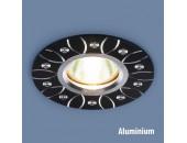 Точечный встраиваемый светильник Elektrostandard 2007 BK (модерн, черный)