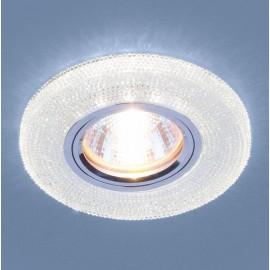 Точечный встраиваемый светильник Elektrostandard 2130 CL  (модерн, прозрачный)