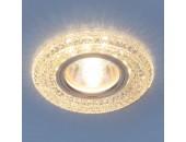 Точечный встраиваемый светильник Elektrostandard 2160 CL (модерн, прозрачный)
