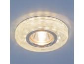 Точечный встраиваемый светильник Elektrostandard 2191 CL/BL (модерн, прозрачный/голубой)