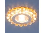Точечный встраиваемый светильник Elektrostandard 6036 GD (модерн, золото)