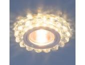 Точечный встраиваемый светильник Elektrostandard 6036 СL (модерн, прозрачный)