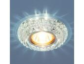 Точечный встраиваемый светильник Elektrostandard 7247 СL (модерн, прозрачный)