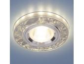 Точечный встраиваемый светильник Elektrostandard 8096 SL (модерн, серебро)