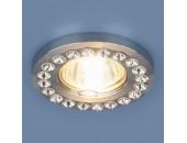 Точечный встраиваемый светильник Elektrostandard 8331 CH/CL (модерн, хром/прозрачный)