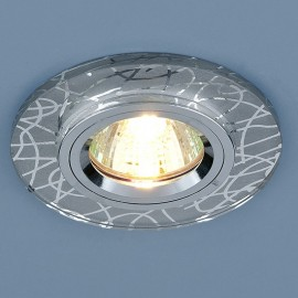 Точечный встраиваемый светильник Elektrostandard 8360 CH (модерн, хром)