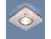 Точечный встраиваемый светильник Elektrostandard 8391 CL/GC (модерн, прозрачный/тонированный)