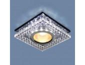 Точечный встраиваемый светильник Elektrostandard 8391 CL/SBK (модерн, прозрачный/дымчатый)