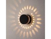 Уличный настенный светильник Elektrostandard 1585 TECHNO LED ARKADA черный