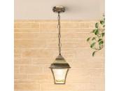 Уличный подвесной светильник Elektrostandard Apus H GL 1009H (черное золото, классика)