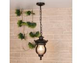 Уличный подвесной светильник Elektrostandard Barrel H (кантри, черное золото)