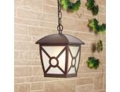 Уличный подвесной светильник Elektrostandard COLUMBA H GL1022H 4690389136825 (коричневый, кантри)