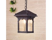 Уличный подвесной светильник Elektrostandard CORVUS H GL1021H 4690389138195 (капучино, восточный стиль)