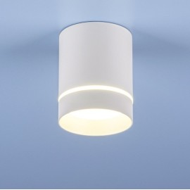 Точечный накладной светильник Elektrostandard DLR021 (модерн, белый матовый)