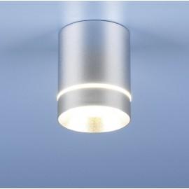 Точечный накладной светильник Elektrostandard DLR021 (модерн, хром матовый)