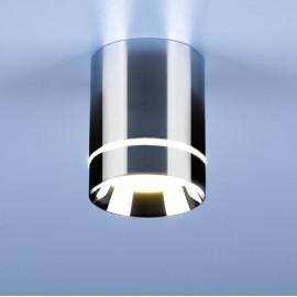 Точечный накладной светильник Elektrostandard DLR021 (модерн, хром)