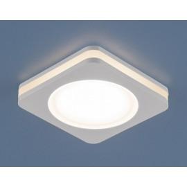 Точечный  встраиваемый светильник Elektrostandard DSK80 3300K LED (модерн, белый)