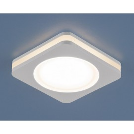 Точечный  встраиваемый светильник Elektrostandard DSK80 4200K LED (модерн, белый)