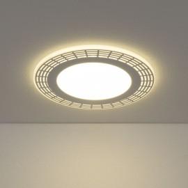 Точечный встраиваемый светильник Elektrostandard DSS001 18W 4200K (белый, модерн)