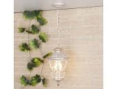 Уличный подвесной светильник Elektrostandard Diadema H (классика, белое золото)