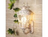 Уличный настенный светильник Elektrostandard Diadema U (классика, белое золото)