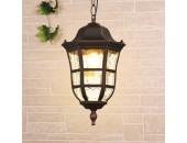 Уличный подвесной светильник Elektrostandard DORADO H GL1013H 4690389135965 (коричневый, классика)